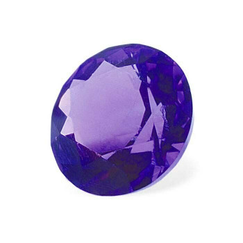 3mm Round Faceted Machine-Cut Amethyst | AA-Grade | 90007