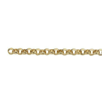 Steel Yellow Gold-Plated 2.7mm Rolo Chain | Sold by the ft | 67717420