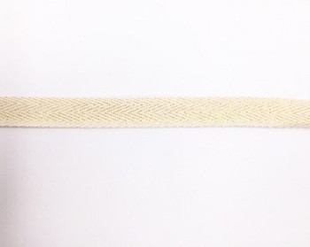 Gold Shimmer Cotton Twill Tape | Medium (1.5cm) |  Sold by Metre | CTTG15