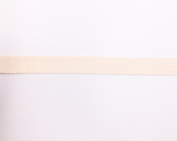 Natural Cotton Twill Tape | Large (1.5cm) |  Sold by Metre | CTTN15