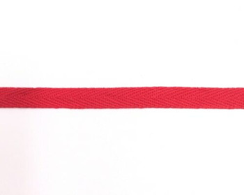Red Cotton Twill Tape | Small (1cm) |  Sold by Metre | CTTR10