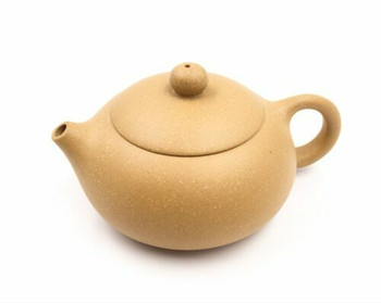 Ceramic Gold Ochre Teapot | YXS0018