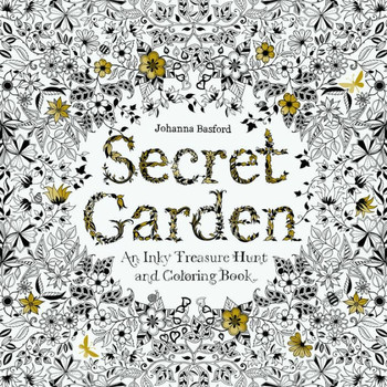 Secret Garden Colouring Book | SCG01