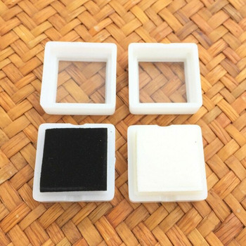 Gem Stone Box | With Display Window and Soft Velvet Pad | GSB01