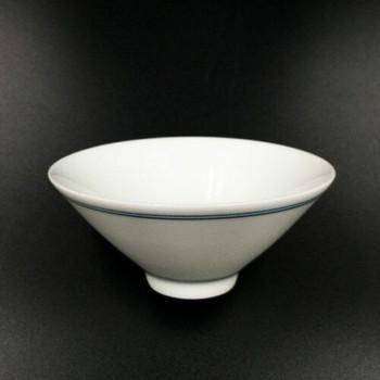 Blue Line Porcelain Teacup | TWC15