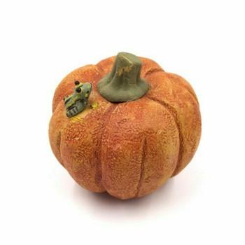 Handmade Pumpkin Tea Pet | 88818