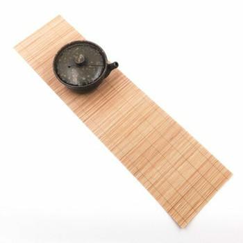 "Bamboo Tea Mat | 19.5 x 5"" | TWA11"