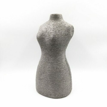 Natural Twine Mannequin Display Stand | Grey | LY02