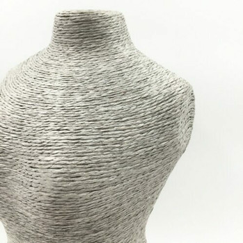 Natural Twine Mannequin Display Stand   Grey   LY02