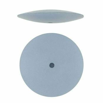 Dedeco Silicone Knife-Edge Polishing Wheel, Blue, Fine | 332834 | Bulk Prcs Avlb