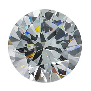 CZ 1mm Round Opal Faceted Stone, Sold By Each | 88686 | Bulk Avlb