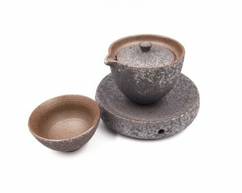 Iron Glaze Teacup | TWC41