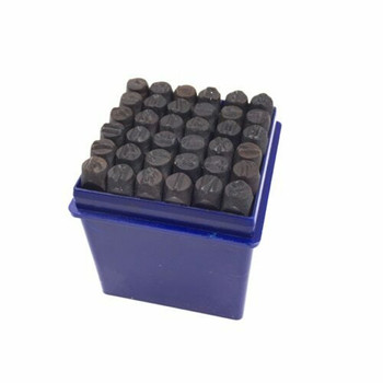 36pc Letter Stamp   3mm   36LS3