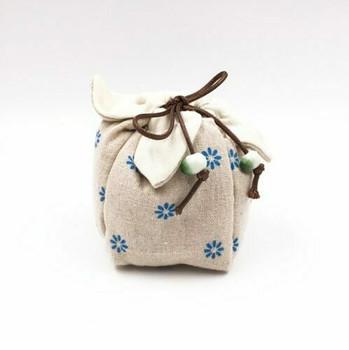 Teaware Bag | Blue Daisy | TF35A