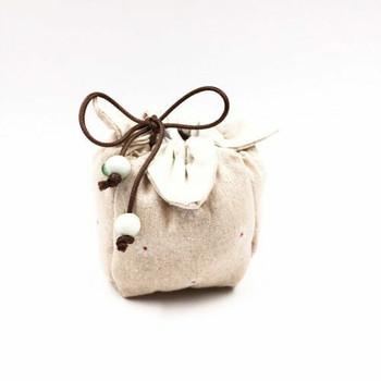 Teaware Bag   White Daisy   TF35B