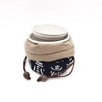 Teaware Bag   Indigo   TF35F