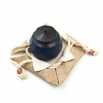 Drawstring Teaware Bag | Small | Sand |  TF36C