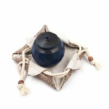 Drawstring Teaware Bag | Small | Basket Weave |  TF36D