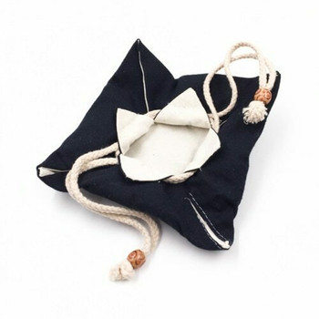 Drawstring Teaware Bag | Medium | Indigo | TF38D