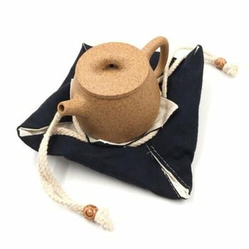 Drawstring Teaware Bag | Medium | Indigo | TF38D