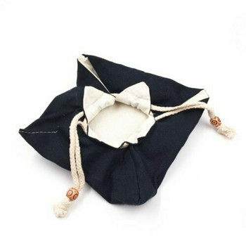 Drawstring Teaware Bag | Large | Indigo | TF37A