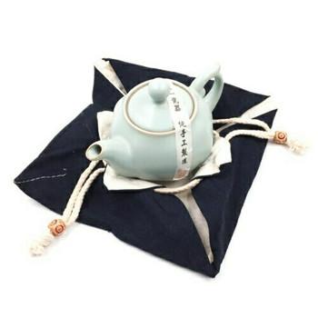 Drawstring Teaware Bag | Large | Indigo | TF37A