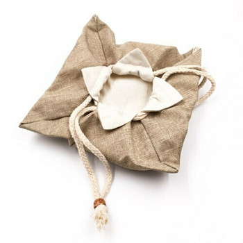 Drawstring Teaware Bag | Large | Sand | TF37C