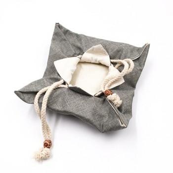 Drawstring Teaware Bag | Large | Sea Foam | TF37D