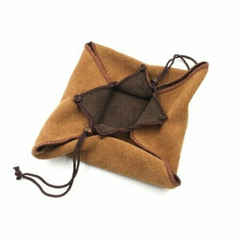 Terry Drawstring Teaware Bag | Medium | Caramel | TF41A