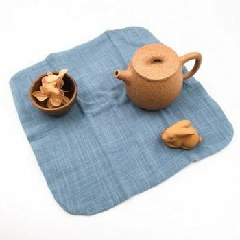 Tea Cloth   Robin's Egg Blue   27x27cm   TF22