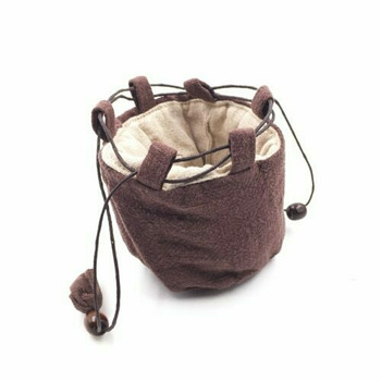 Teaware Bag   Small   Earth Brown   TF29