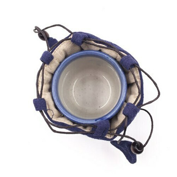 Teaware Bag   Small   Dark Indigo   TF32