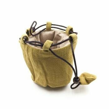 Teaware Bag   Small   Chartreuse   TF31