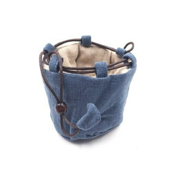 Teaware Bag   Small   Light Indigo   TF34