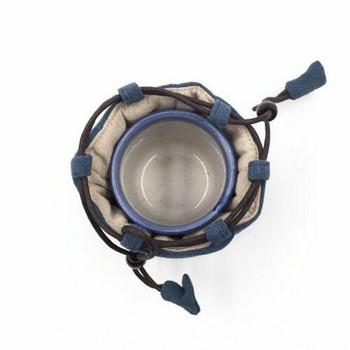 Teaware Bag | Small | Light Indigo | TF34