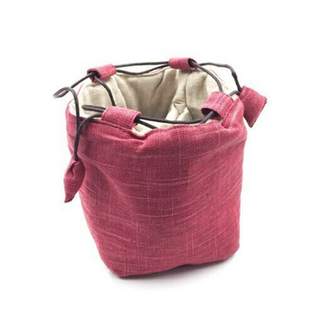Teaware Bag | Large | Raspberry | TF11