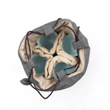 Teaware Bag   Large   Cloud Grey   TF13