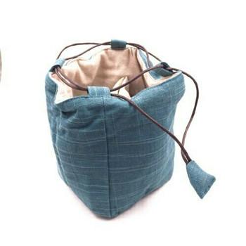 Teaware Bag   Large   Teal   TF14