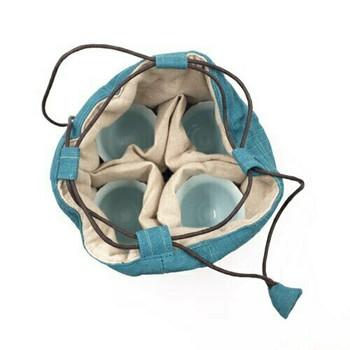 Teaware Bag | Large | Teal | TF14
