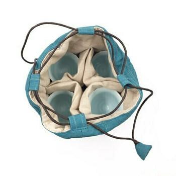 Teaware Bag | Large | Teal | TF14