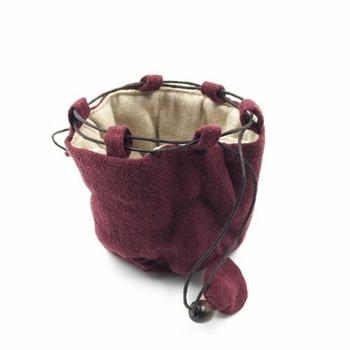 Teaware Bag   Small   Burgundy   TF33