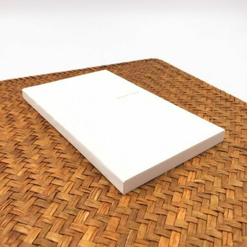 """Gold """"Note For"""" Basic Notebook   Tall   Grid   6925952219956"""