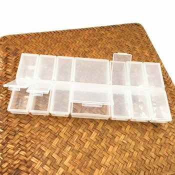 Clear Storage Box with 14 compartments | CSB14