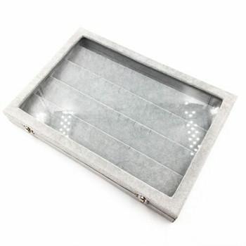 Grey Jewellery Display Box | Earring Hooks | GJB03