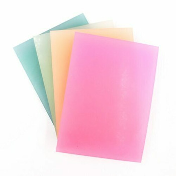 Rubber Cut Plate | Translucent Colour | 14.5 x 10.5 cm | YX0054