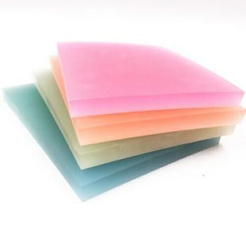 Rubber Cut Plate | Translucent Colour | 14.5 x 10.5 cm | YX0054