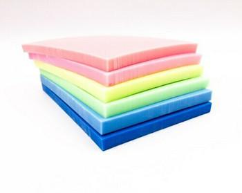 Rubber Cut Plate | Solid Colour | 14.5 x 10.4 cm | YX0013