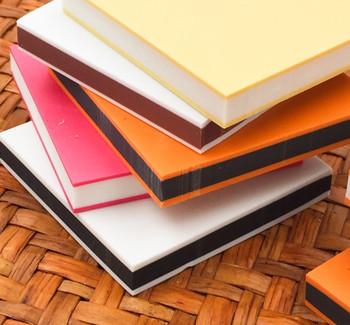 Rubber Cut Plate | Solid Colour Inside | 4.8 x 4.8 x 0.8 cm | YX0011