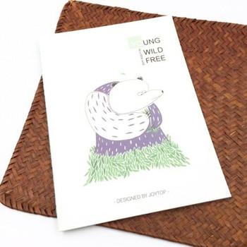 "Joytop Notebook   ""Be a Little Wild""   Style D   JTN11D"