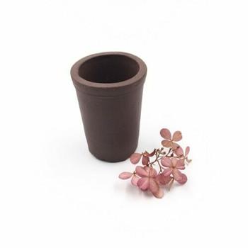 Rounded Yixing Plant Pot | 6 x 5 cm | XXZ24